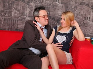 Pervy old teacher gets it on with the beautiful Mary.